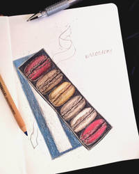 Macarons by LoneFury