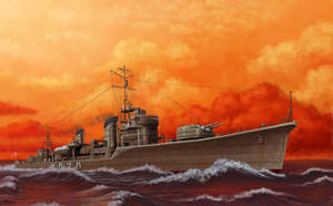 IJN destroyer Hatsukaze by U-Joe