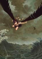 Crow of Wind and Rain by U-Joe