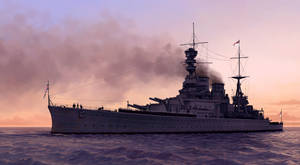 HMS Renown by U-Joe