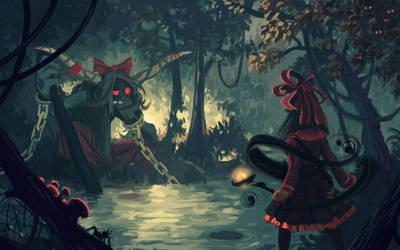 Suika's lair by U-Joe
