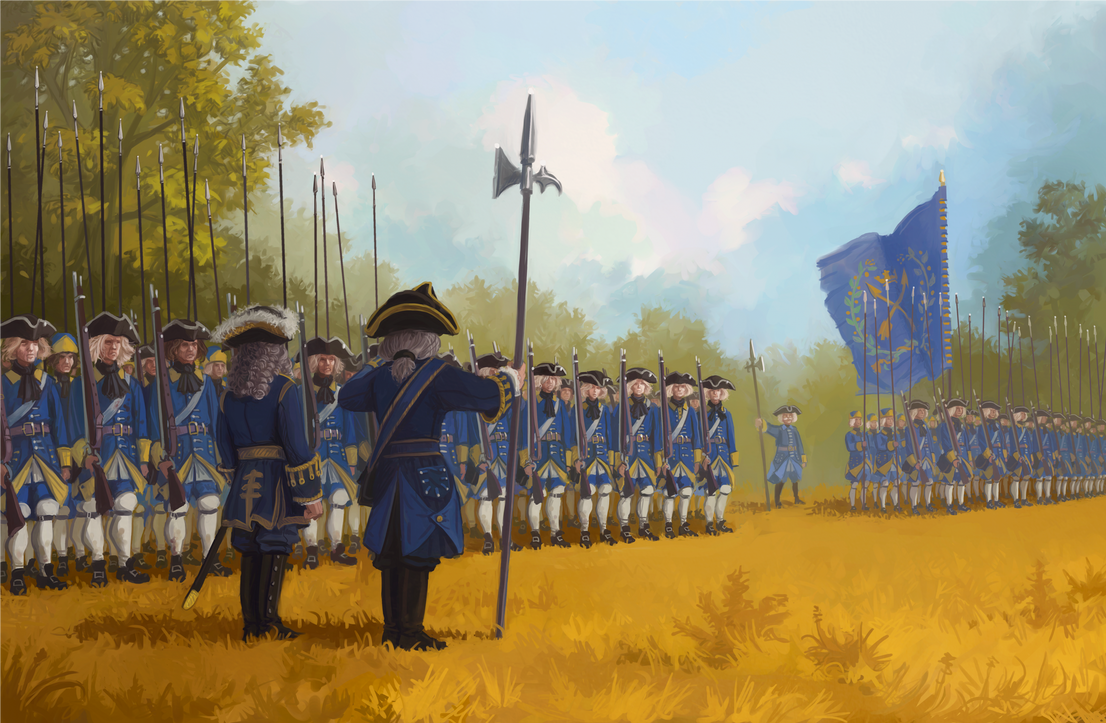 The Swedish Infantry by U-Joe