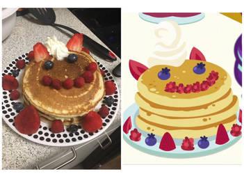 Celestias Pancakes IRL by Jesslmc16