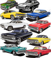 Vector Clipart set 1 by Bmart333