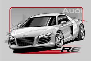 Audi R8 by Bmart333