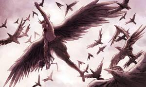 Hawkman by Titancross