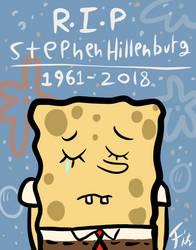 R.I.P Stephen Hillenburg by fitzsanchez