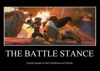 KFP: Battle Stance by Jade-Encrusted-Bugs