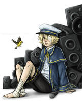 VOCALOID3 Oliver Offical Art by lawlietlk