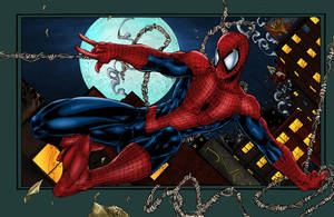 Spider-Man Colored by likwidlead