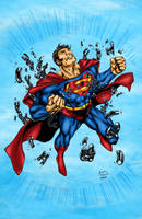 Superman Colors by likwidlead