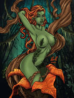LCFreitas- Poison Ivy Colored by likwidlead