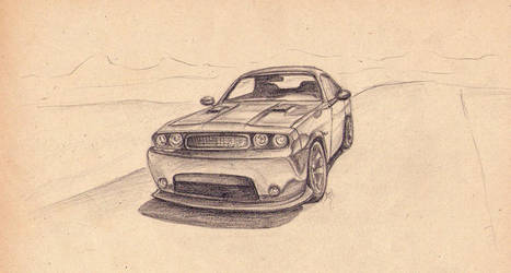 Dodge Challenger SRT8 by 9Phoenix9