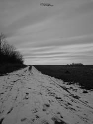 The winter road by 9Phoenix9