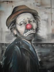 Sad Clown by Ommameta123