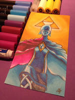 Phai and the Triforce by LaraWegenaerArts