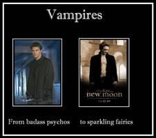 Evolution of Vampires: Poster by NoirFloo