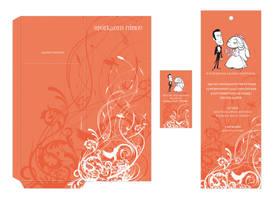 wedding invitation 2008 by deviantonis