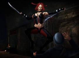 Bloodrayne by BartekDanielak