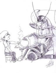 Tea time roach for Mausmouse by CKOanime