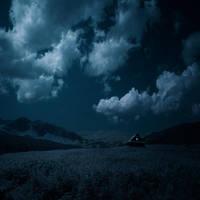 Desolate Mountains II by Karezoid