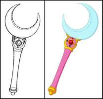 Moon Stick (Manga and 2014 Anime) by Moon-Shadow-1985