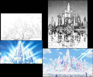 Crystal Palace Complex (Manga and Anime - 2nd and by Moon-Shadow-1985