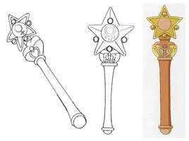 Venus Star Power Power Henshin Stick (Manga, 1992  by Moon-Shadow-1985