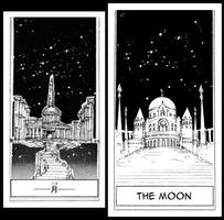1st Look of the Moon Castle (Original and Reprint) by Moon-Shadow-1985