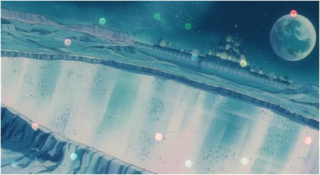 Moon Kingdom Ice Rink (1992 Anime) by Moon-Shadow-1985