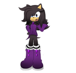 Contest Entry - Kuroi The Hedgehog - BloomPhantom by I-G-imagination
