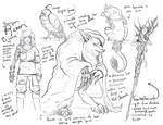 Character Reference sketches by kelley-a