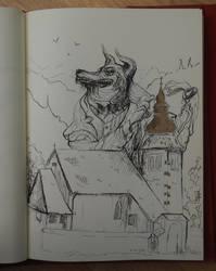 Greed sketch by kelley-a