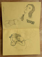 Sketches from Coffeefellows by kelley-a