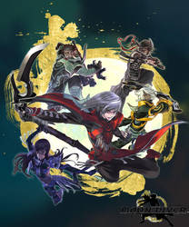 Moon Diver by gamergaijin