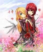 Sasodei: Fairytale Collab by ninjagirl-rukai