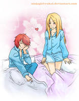 Sasodei: Good Morning by ninjagirl-rukai
