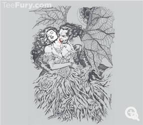 Vampire's Kiss by Al Rio at Teefury by AlRioArt
