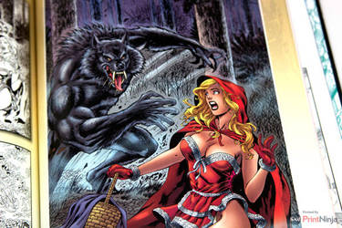Grimm Fairy Tales #1 cover by Al Rio by AlRioArt