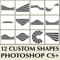 Photoshop Custom Shapes By Brushportal by Brushportal