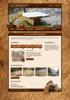 FGC Terrassements Website by AeonOfTime