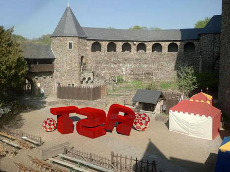 SchlossBurg compositing by TRSEpyx