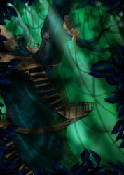 Treehouse by alajna