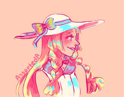 Smiling Lillie by AssortedA-Art