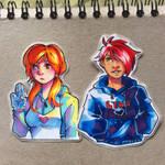 Stickers (Updated) by AssortedA-Art