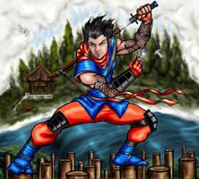 Ninja Kabamaru alternate BG by SilkyWays
