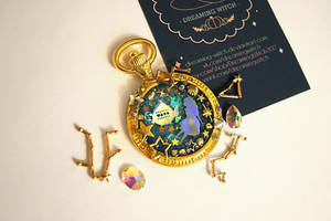 Alice in Wonderland Pendant by Dreaming-Witch