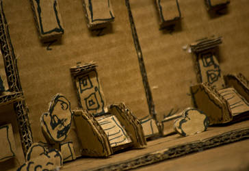 Cardboard City - Photo 1 by BrownBoxStudio