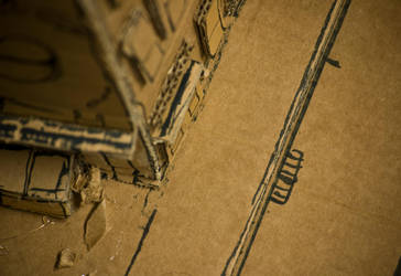 Cardboard City - Photo 3 by BrownBoxStudio