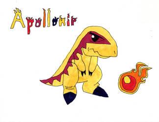 Apollonir - Tarbosaurus by Aubrie1234